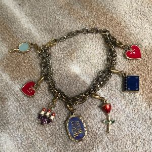 Beauty and the beast charm bracelet Broadway play